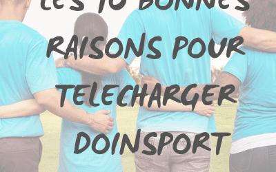 10 bonnes raisons pour télécharger Doinsport