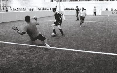 Faire du foot en salle à Paris