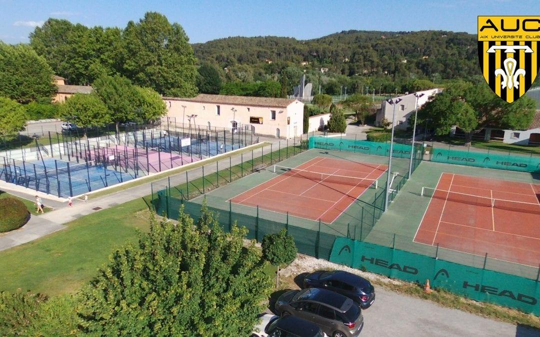 Doinsport partenaire de l'AUC Tennis – Padel à Aix