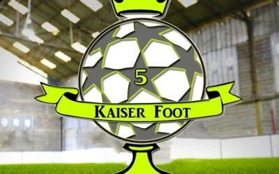 Kaiser Foot 5 sous le charme de Doinsport