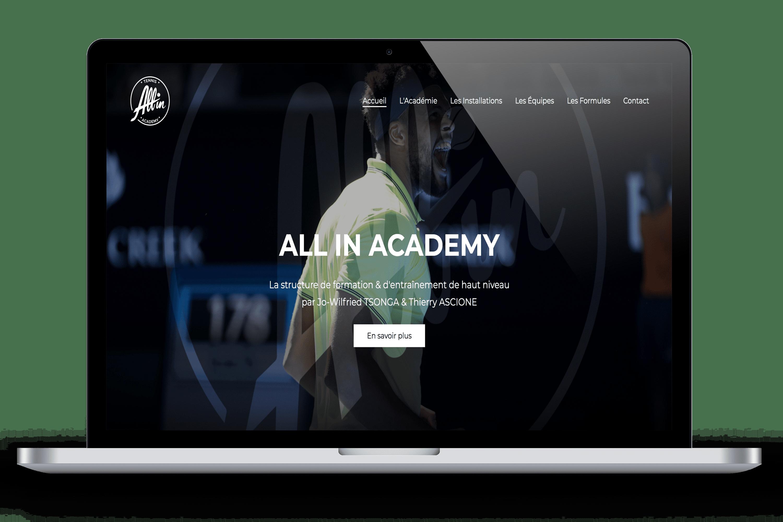 Réservation sport site internet